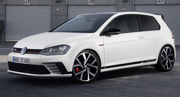 next gen vw golf gti clubsport to get 300 hp. Black Bedroom Furniture Sets. Home Design Ideas