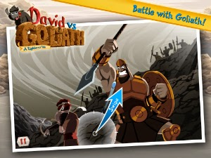 David vs. Goliath is a new app for children by Righteous Games.