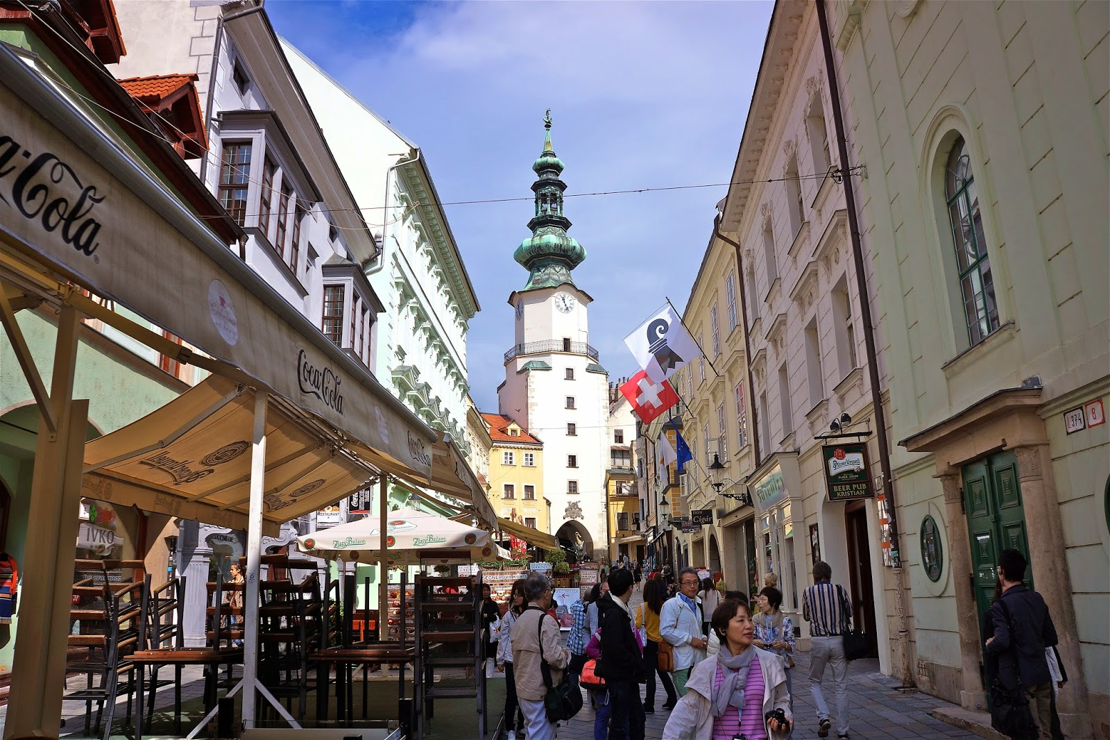 Picture from the old town of Bratislava.
