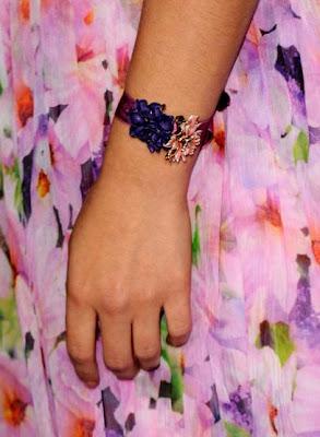 Natalie Portman Gemstone Bracelet