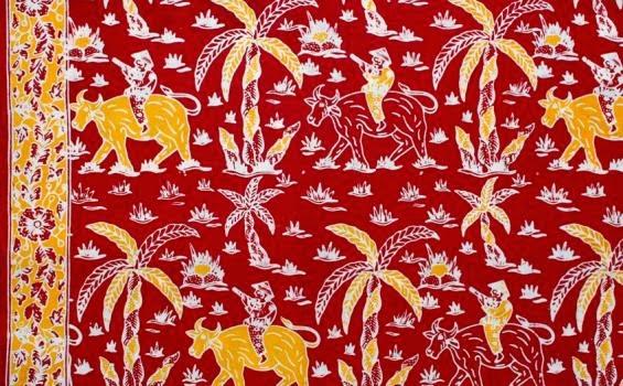 Batik, Batik Betawi, Motif Batik Betawi, Kain Batik, Batik Cetak