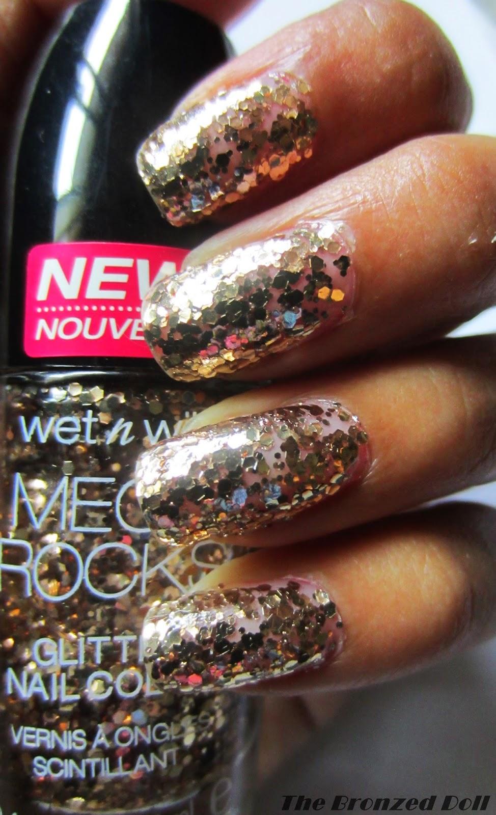 wet n wild mega rocks glitter nail polish
