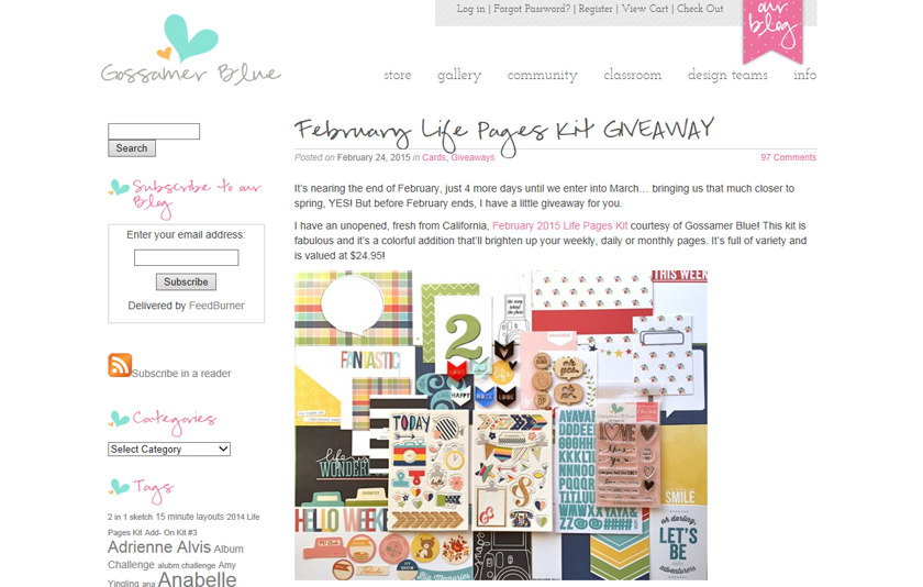 http://www.gossamerblue.com/february-life-pages-kit-giveaway/