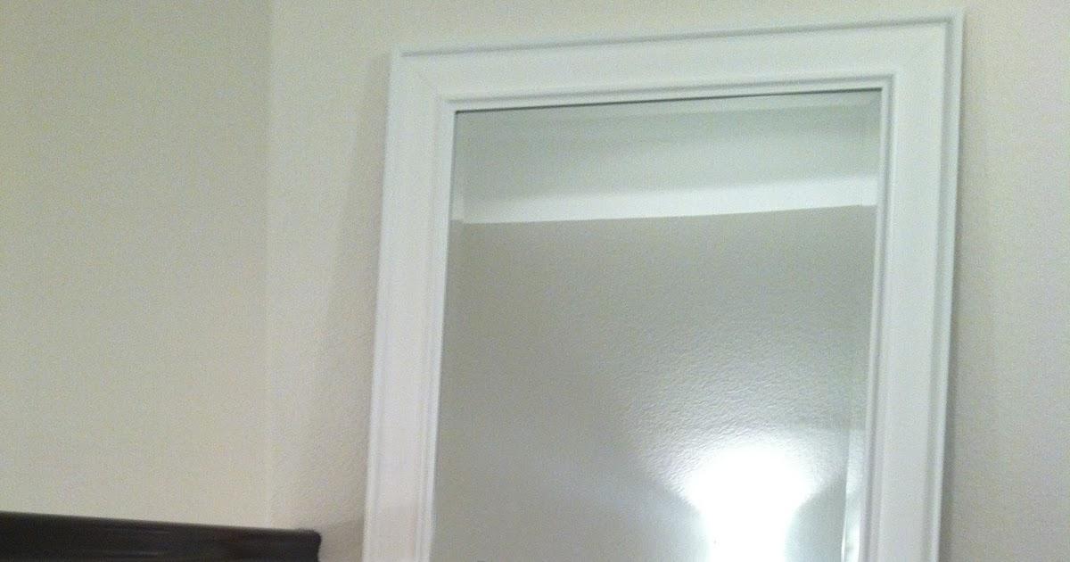 House Of Aqua White Modern Full Length Mirror Home Decor