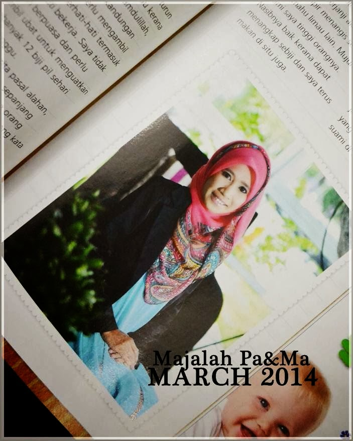 FEATURED in Majalah Pa&Ma
