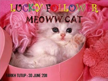 """Lucky Followers by Meoww Cat""."