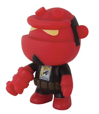 "San Diego Comic-Con 2013 Exclusive Hellboy Qee 5"" Vinyl Figure by Toy2R & Dark Horse"