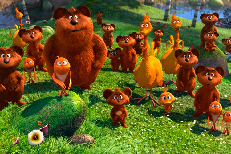 Dr seuss 39 the lorax movie review and giveaway for Fish in a tree summary