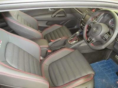 Interior VW Scirocco GTS