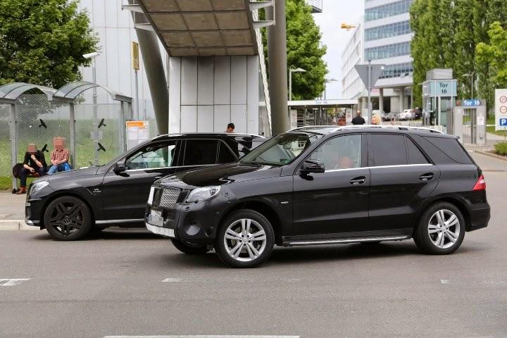 2015 Mercedes M-Class Facelift