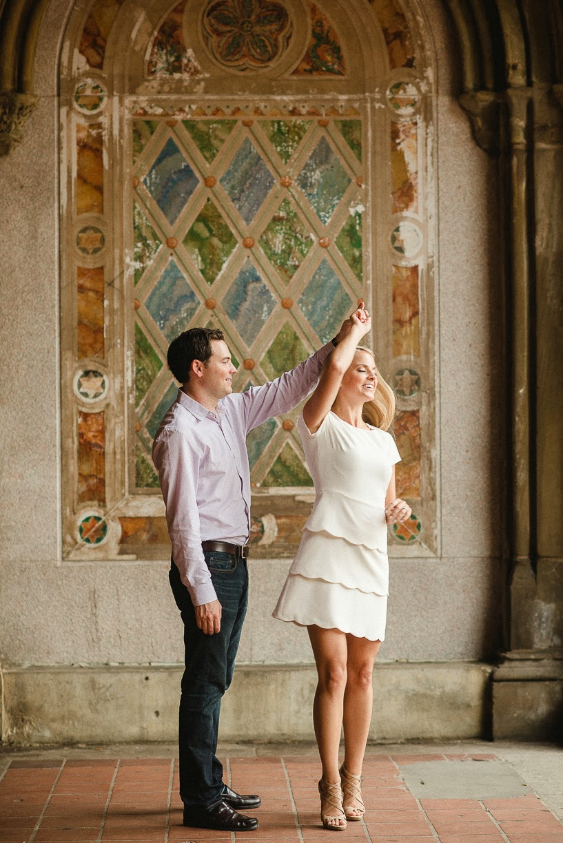 wedding, engagement pictures, engagement picture idea, grand central engagement, central park engagement, perfect dress for engagement pictures