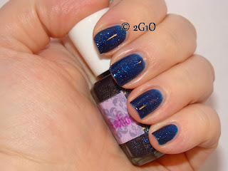 Dreamy Lacquer company DLC Starry Starry night SSN dupe two girls one imitation