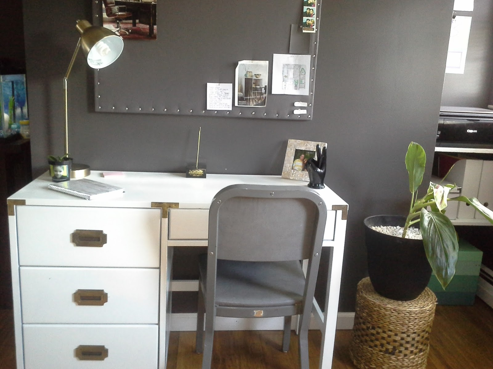 saw nail coastal white desk navy paint blue style campaign and