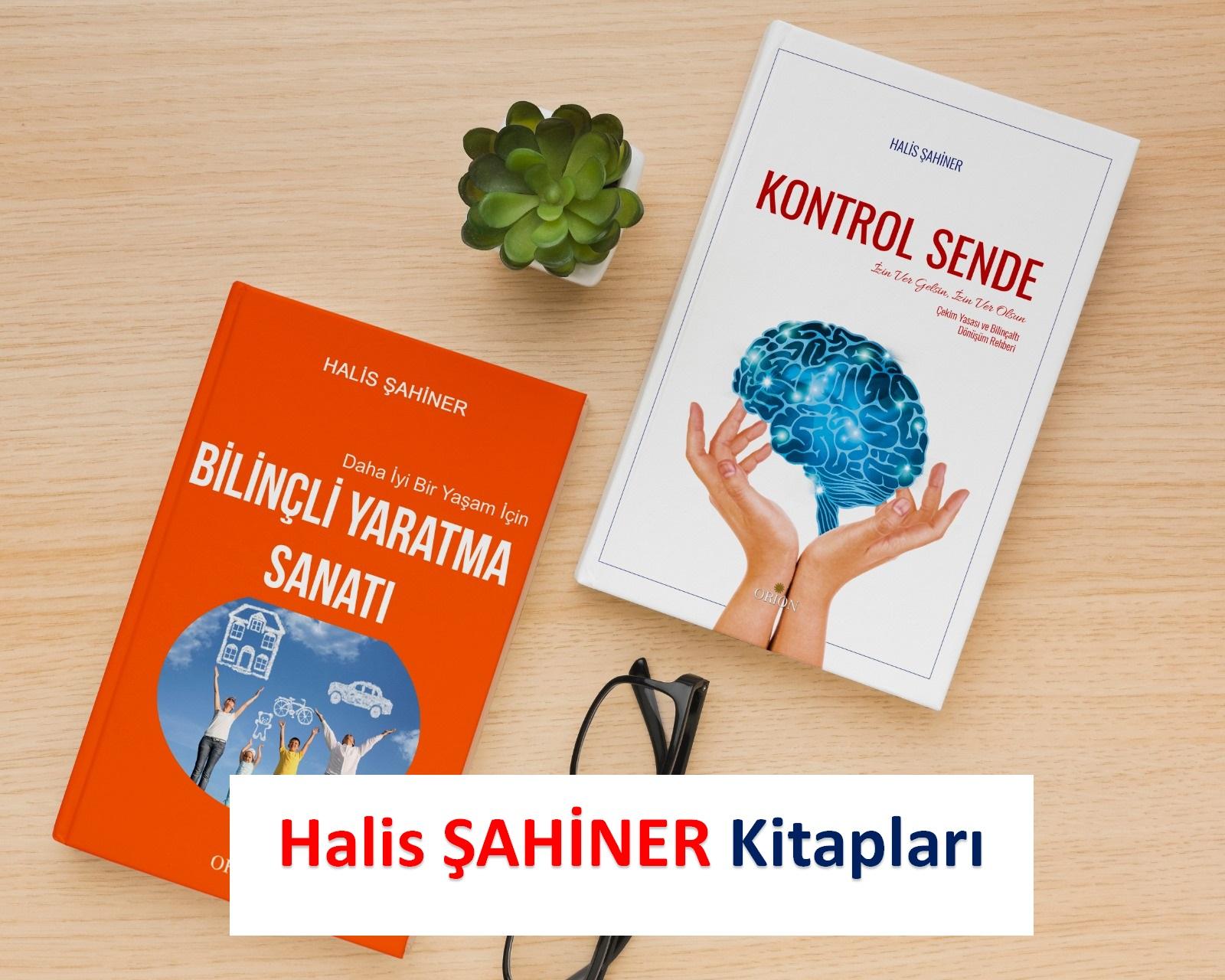 Halis ŞAHİNER Kitapları