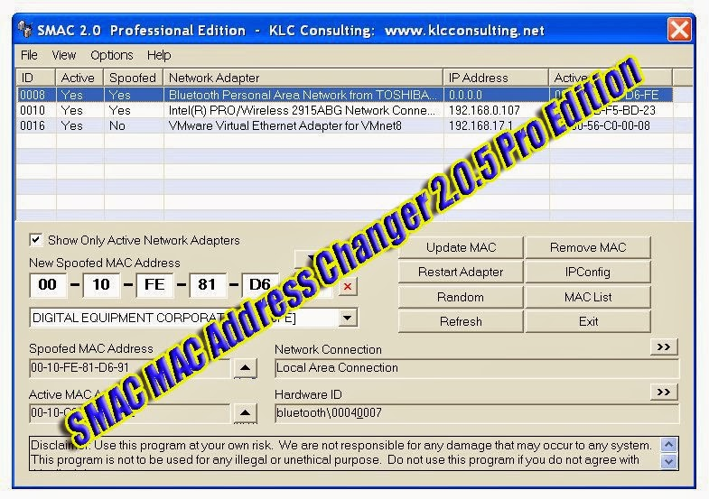 Win7 mac address changer portable 1.9.1