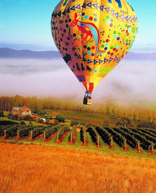 Yarra Valley nơi sản xuất rượu vang ở Úc