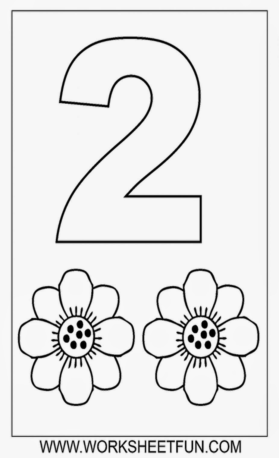 number 2 worksheets for preschoolers printable color by number sheets free coloring sheet 708