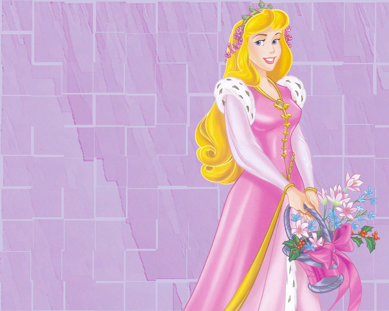 Perfect and Beautifull Disney Princess Aurora Wear Pink Dress Disney ...