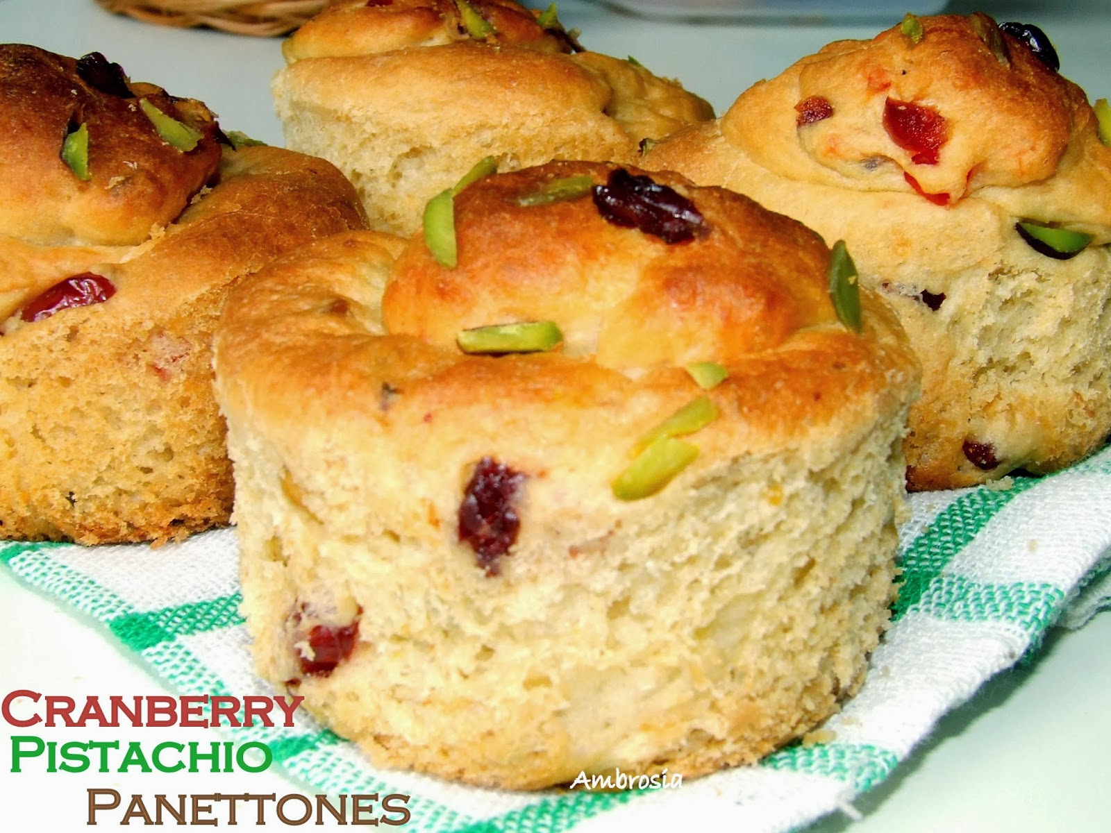panettone bread pudding and or panettone cranberry pistachio panettone ...