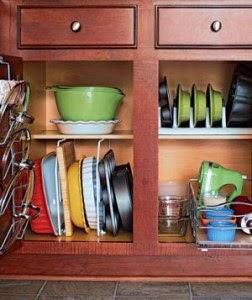 بالصور حلول عملية للتخزين والترتيب في المطبخ الصغير