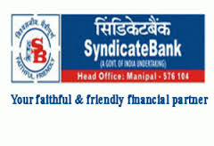 SYNDICATE BANK: ADMISSION TO PGD(B&F) COURSE OFFERED 2016 -2017