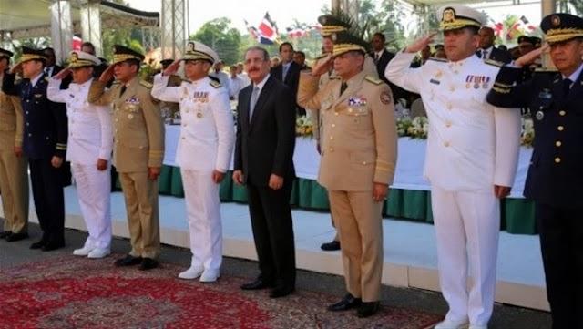 Presidente Medina conmemora natalicio de Mella y Día de las Fuerzas Armadas