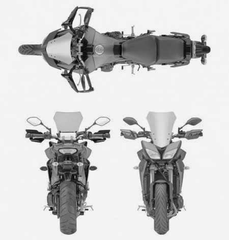 Yamaha MT-09 Versi Touring