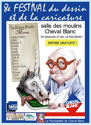 Jean Pierre Coffe caricature