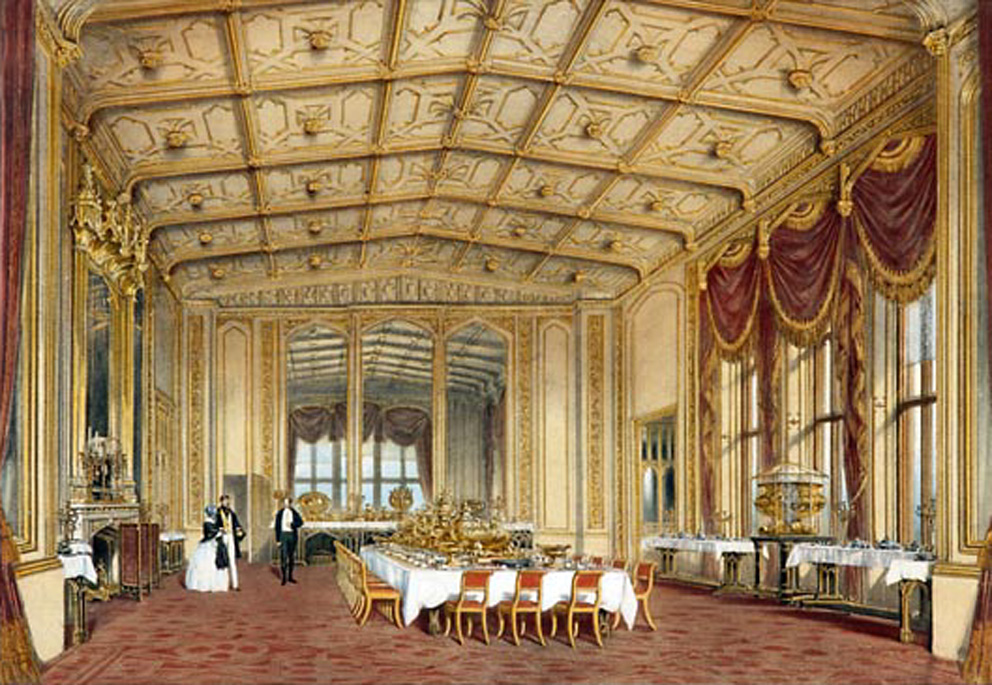 the gothic private dining room 1848