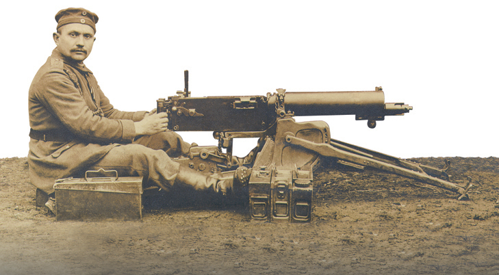 german machine guns ww1 - photo #13