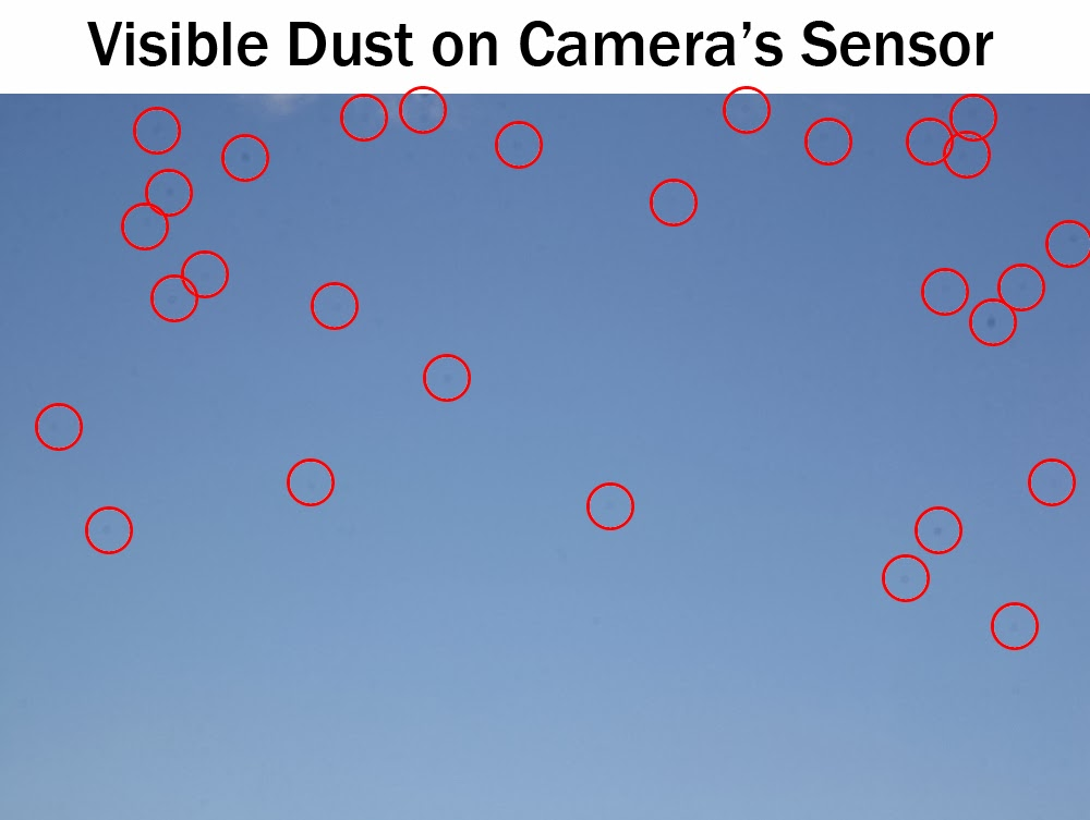 Visible Dust on Camera Sensor - keep your sensor clean | Boost Your Photography
