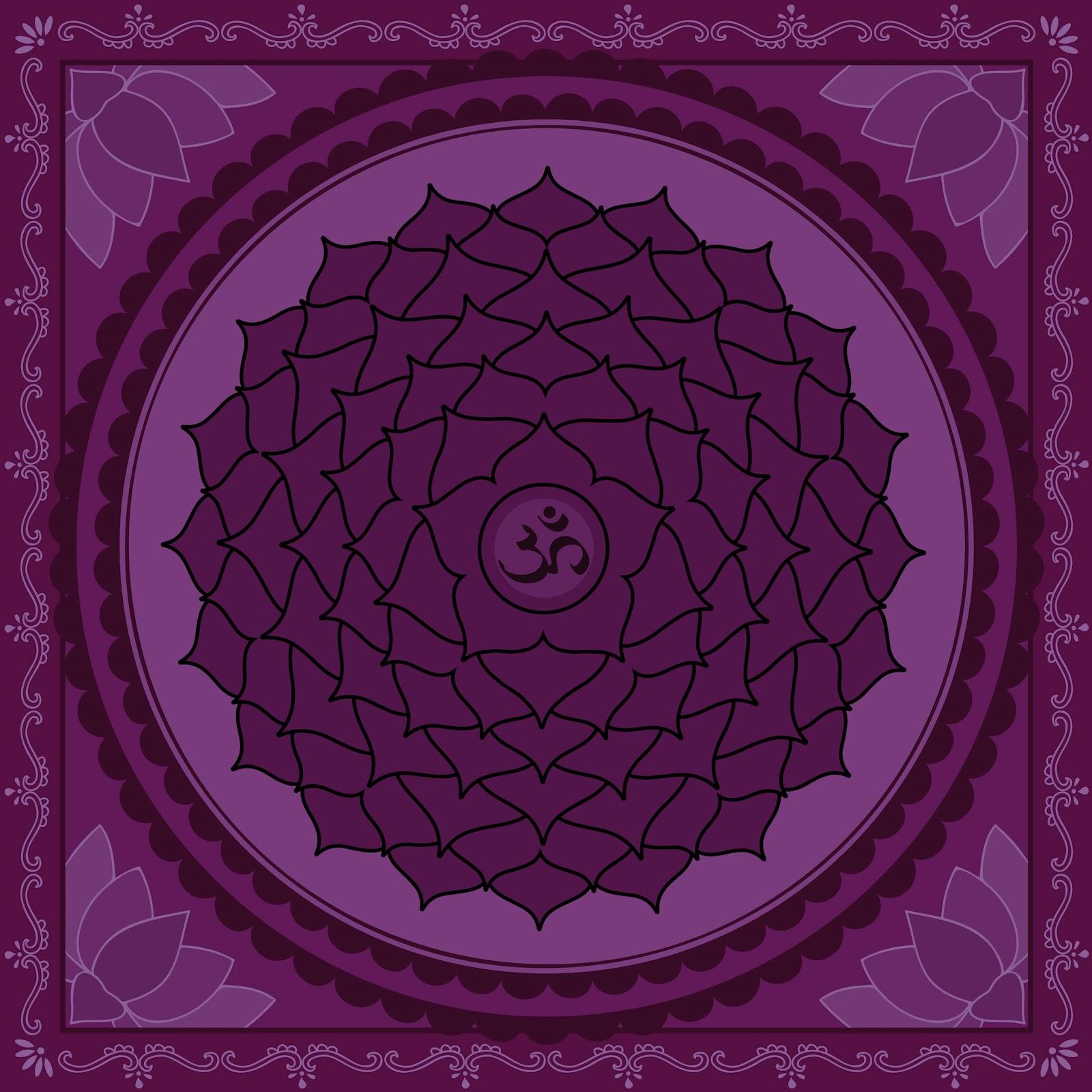 Affirmations à réciter (matin et soir) pour l'équilibrage de l'énergie de vos chakras SAHASRARA+CHAKRA