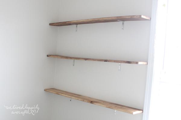 Easy DIY Floating Shelves We Lived Happily Ever After Bloglovin