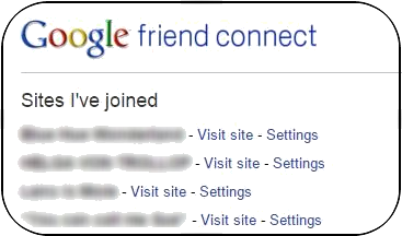 Unfollow a blog on Google Friend Connect, 2015