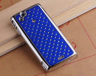 Bling Crystal Diamond Plating Case Cover For SONY Xperia Arc S Lt18i X12 LT15i