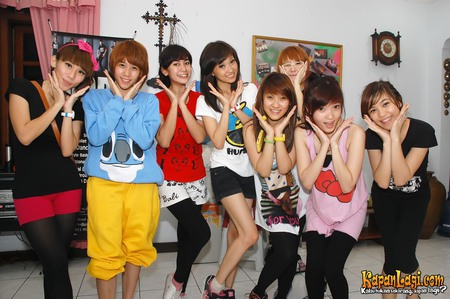 Biodata Cherry Belle, Girl Band Indonesia