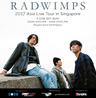 RADWIMPS 4 June 2017