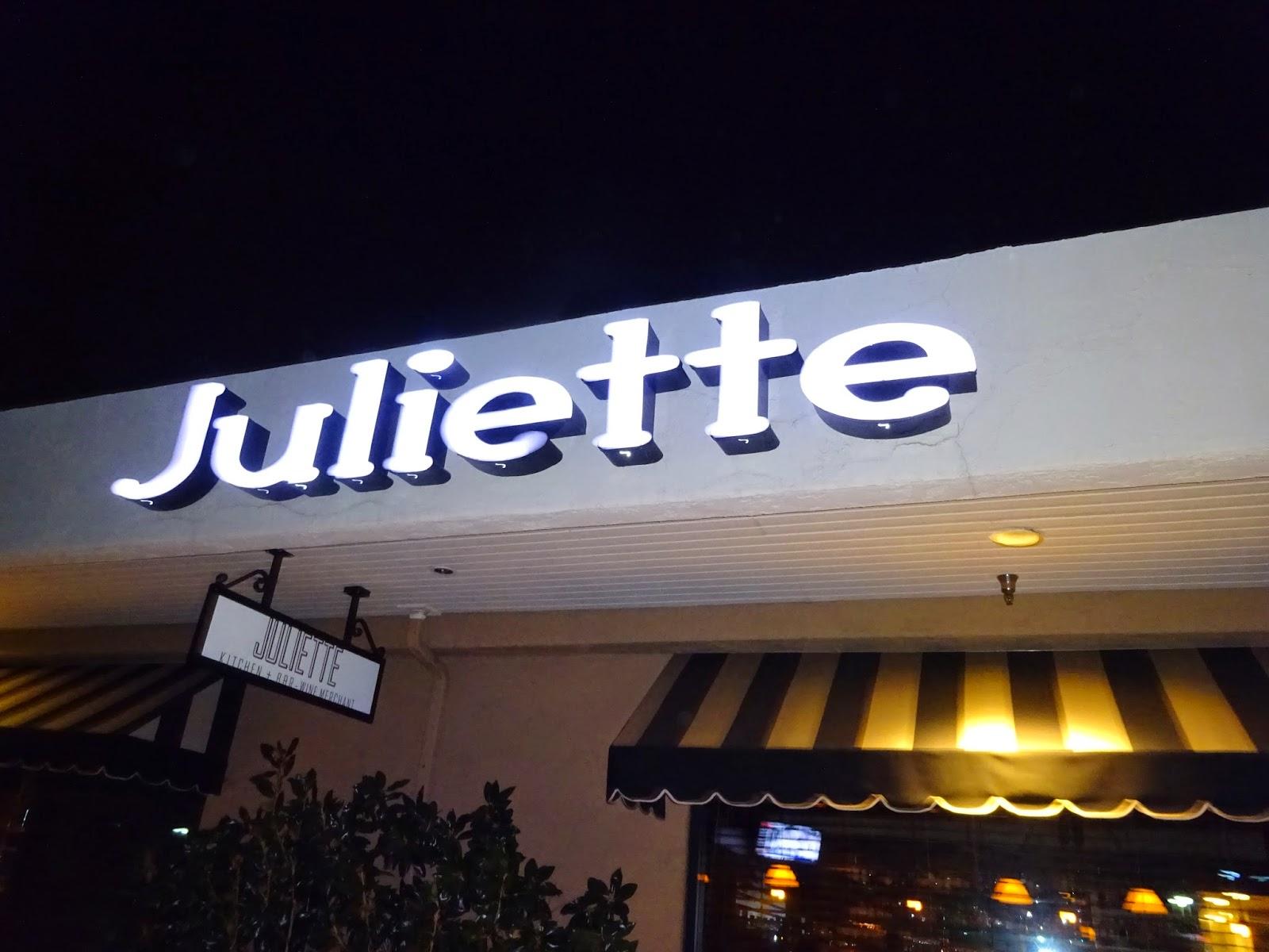 Eating My Way Through Oc Romantic Date Night At Juliette