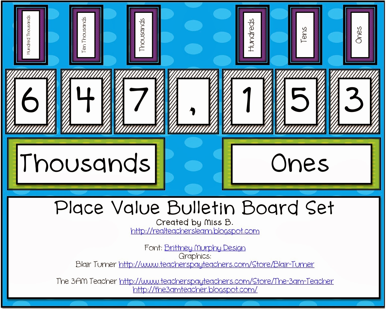 Worksheet Place Value For Kids real teachers learn november 2013 the kids refer to it all time and my old one didnt have ones thousands millions period markers we use a ton