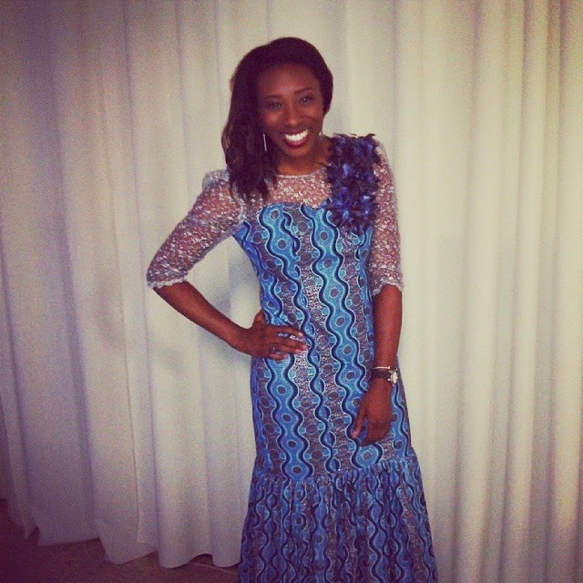 Outfit Of The Night: Nigerian Wedding Attire - Dresses and Dumbbells