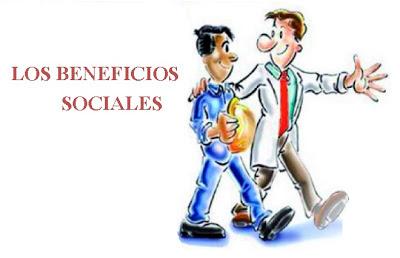 LOS BENEFICIOS SOCIALES