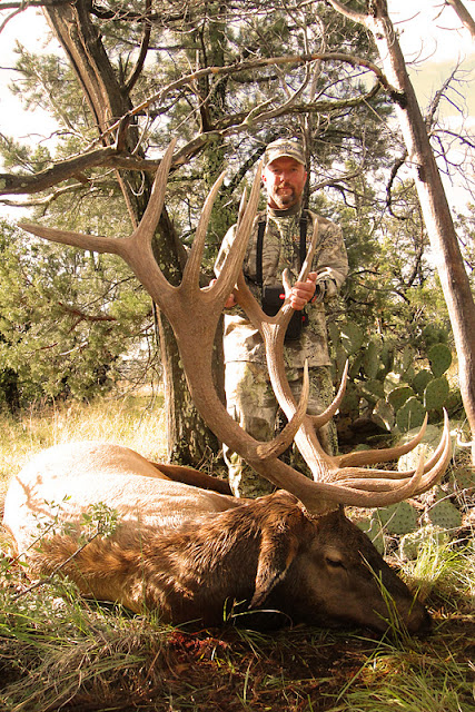 Todd Brooks Arizona Archery Elk Picture with Colburn and Scott Outfitters 9