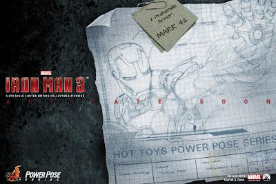 Hot Toys Iron Man 3 Mk 42 Power Pose Series