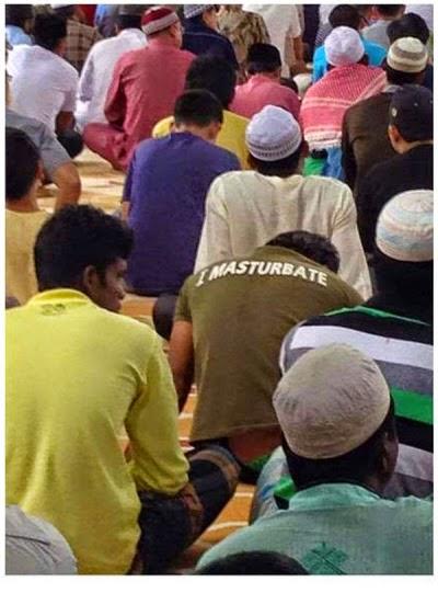 Lelaki Tertangkap Kerana Onani Di Dalam Masjid!