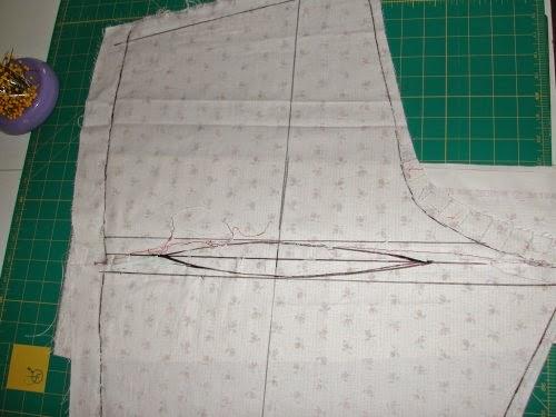 Stitches And Seams: Alterations: Fisheye Dart (Pants