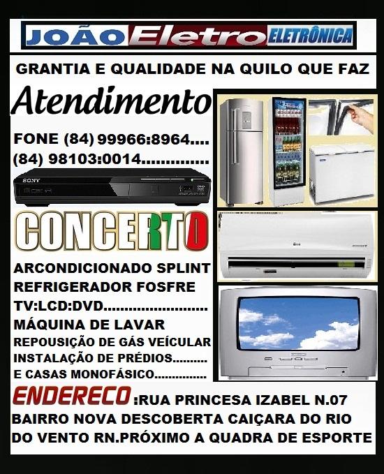 JOÃO ELETRO ELETRÔNICA CAIÇARA RN