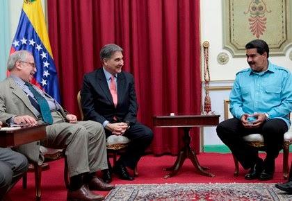 VISITA Y ENCUENTRO MINISTRO DE INDUSTRIA DE BRASIL Y EL PRESIDENTE MADURO