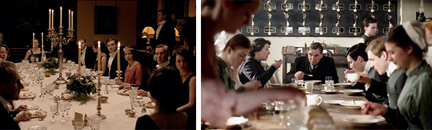 cena downton abbey
