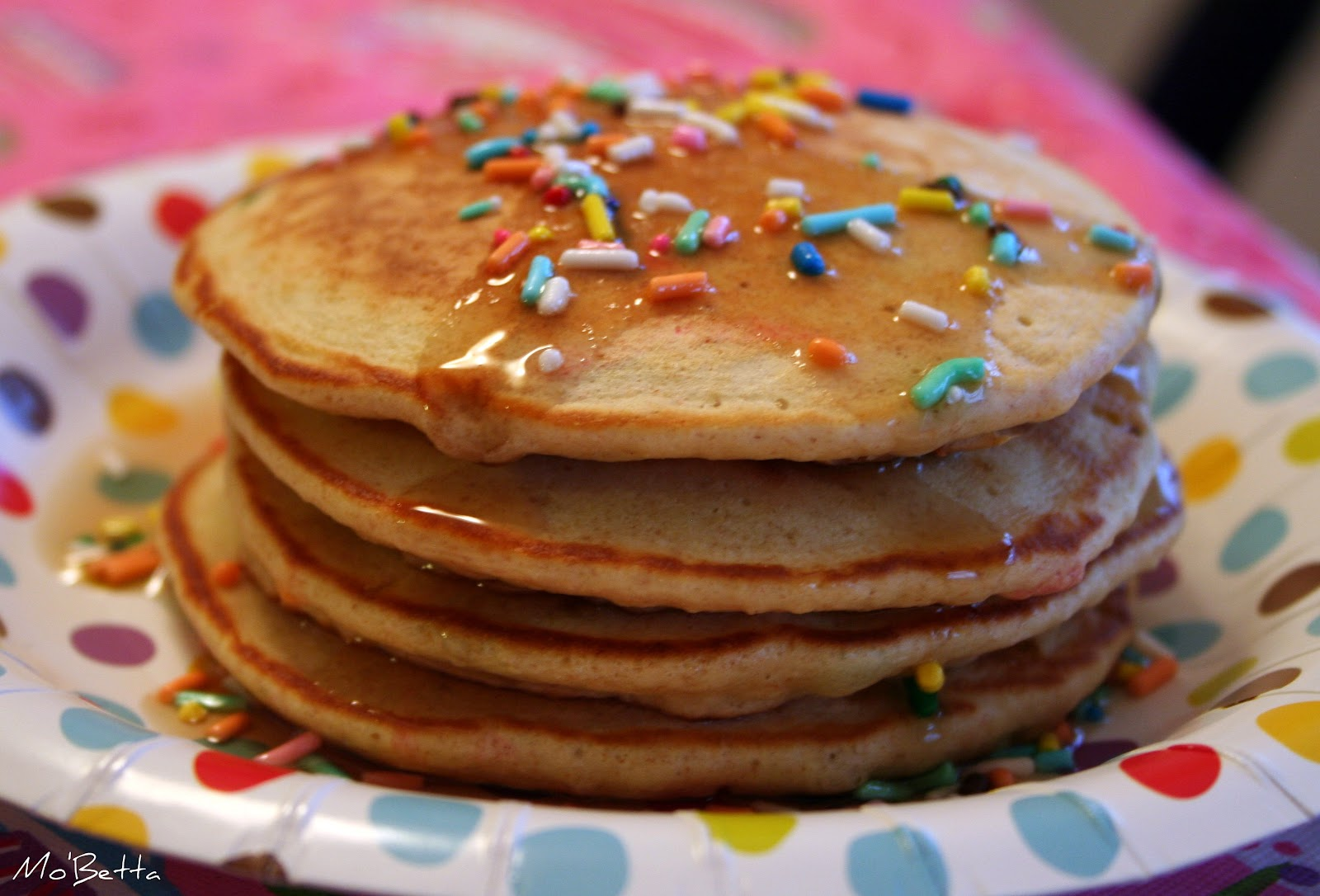 Makin' it Mo' Betta: Cake Batter Pancakes