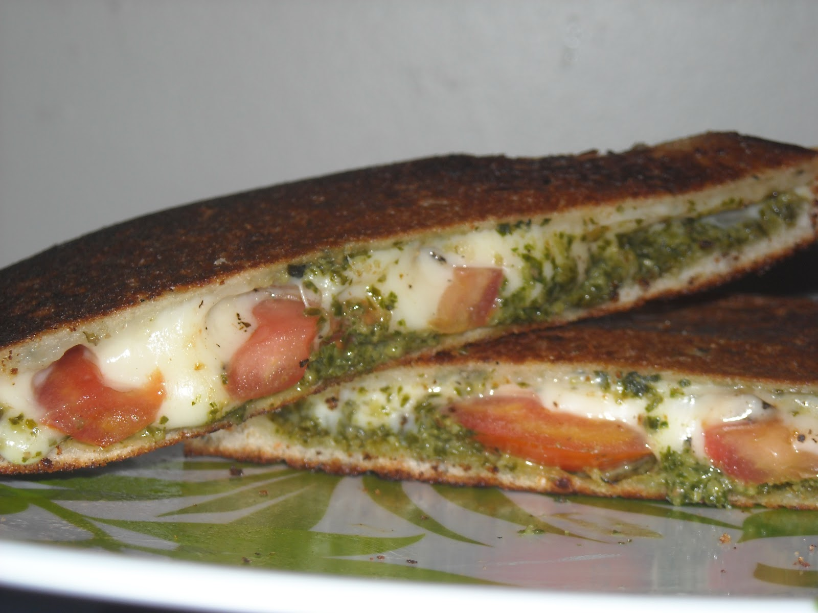 The Watson Kitchen: Mozzarella Grilled Cheese with Kale ...